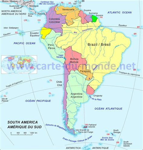Carte Du Monde Continent Americain by Infos Sur La Carte Du Continent Americain Arts Et Voyages
