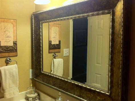 Large Mirrors For Bathroom Walls by 20 Inspirations Large Framed Bathroom Wall Mirrors