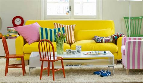 foto sofa amarillo ikea de ma jose jimenez
