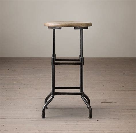 iron counter stools bar counter height 3 1920s american factory stool 159 1928
