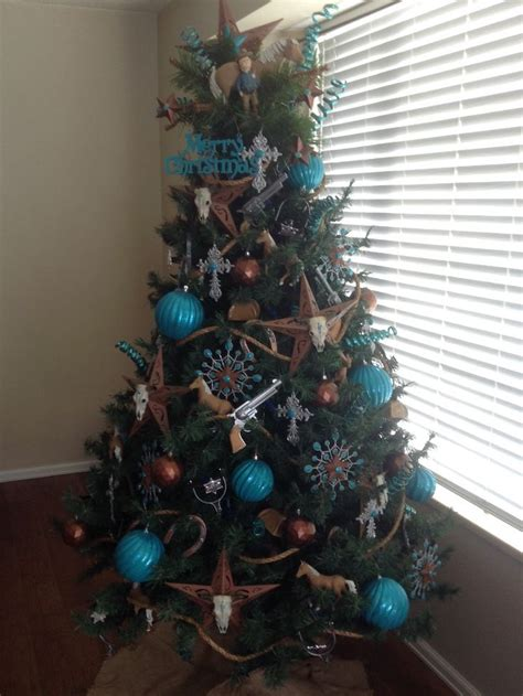 pin  decorated christmas trees