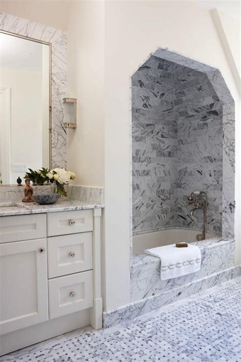 bathroom alcove ideas marble shower alcove transitional bathroom