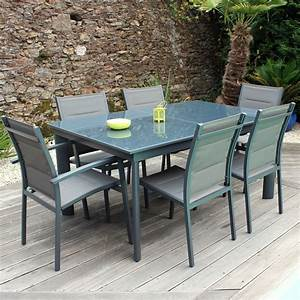 Table De Jardin Solde : ensemble table et chaise de jardin en resine pas cher menuiserie ~ Teatrodelosmanantiales.com Idées de Décoration
