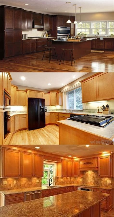 types of kitchen design different types of wood for kitchen cabinets interior design 6446