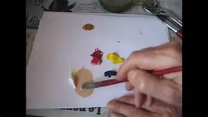 comment faire de l39ocre jaune youtube With quel couleur pour faire du marron en peinture 7 quelle couleur avec le jaune moutarde