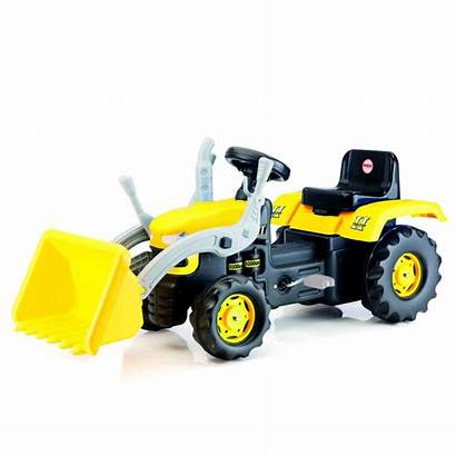 Tractor Ride Excavator Toy Pedal Dolu Outdoor