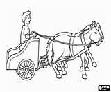 Coloring Roman Romano Roma Rome Chariot Ancient Colorear Carruaje Printable Antigua Wagen Dibujos Empire Ciudadano Colorare Imperio Romeinse Carrozza Caballos sketch template