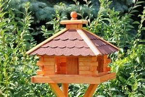 Großes Vogelhaus Selber Bauen : gro es vogelhaus viereckig typ 9 bestellen bei online shop holzdekoladen ~ Orissabook.com Haus und Dekorationen
