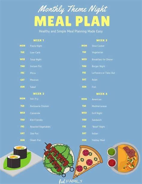 eine gesunde essensplanung fuer anfaenger kann mit dinner