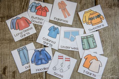 easy   organize kids clothes   printable