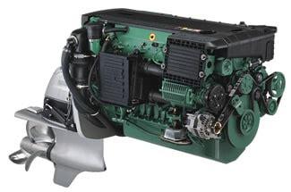 volvo penta  marine diesel  inboards  sterndrives