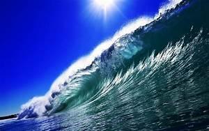 HD Wave Wallpaper - WallpaperSafari
