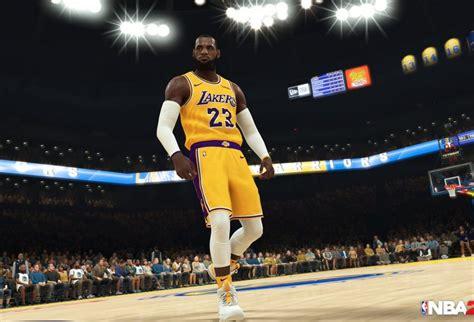 New NBA 2K19 Screenshot Shows LeBron James In LA Lakers ...