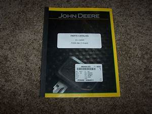 John Deere 510 Loader Parts Catalog Manual Book Pc9295