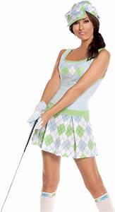 Tiger Woods Golf Costume!