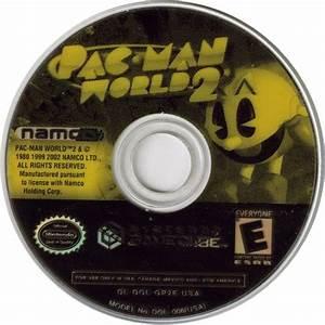 Pac Man Vspac Man World 2 2003 Gamecube Box Cover Art