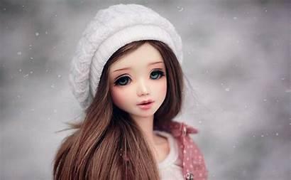 Doll Gambar Barbie Wallpapers Winter Cantik Snow