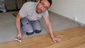 eric le carreleur pose de lames pvc clipsable gerflor With parquet pvc clipsable