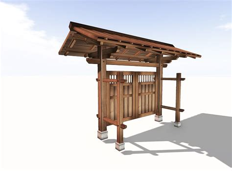 Japanisches Tor Kaufen by Japanese Garden Gate Hougei Planks Moon Gates