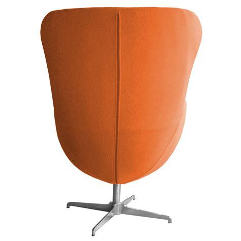 retro arne jacobsen inspired designer swivel wool egg