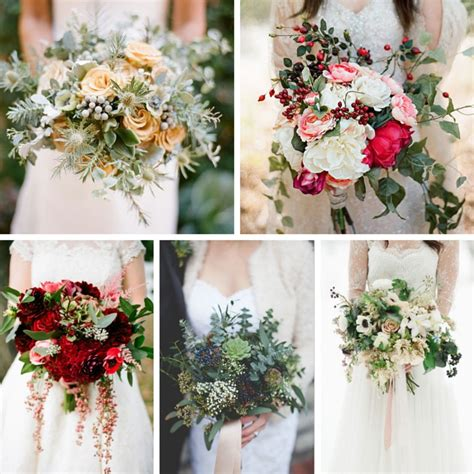 5 Of The Most Gorgeous Winter Bridal Bouquets Chic