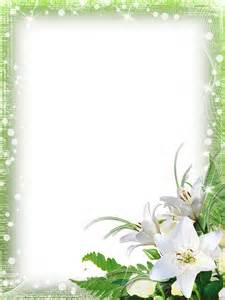powerpoint mariage green png photo frame with flowers gallery yopriceville high quality images and transparent