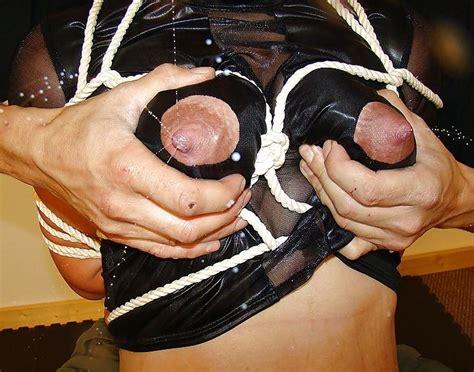 Bound Tight Lactating Tits Bondage Porn
