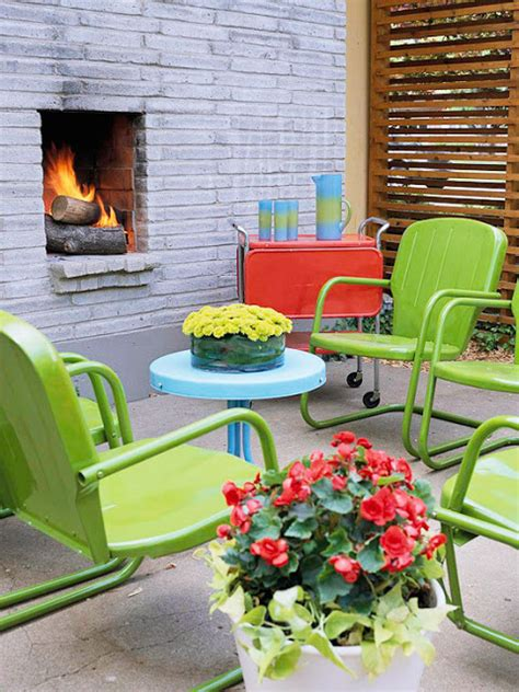 modern furniture colorful outdoor decorating for summer 2013