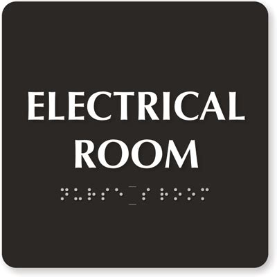 Electrical Room Signs  Electric Meter Room Signs