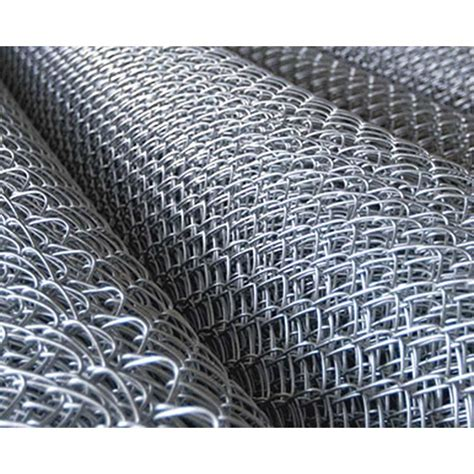 gauge    chain link fence fabric galvanized