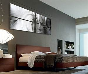 abstract metal art modern bedroom salt lake city With kitchen cabinets lowes with abstract canvas wall art sets
