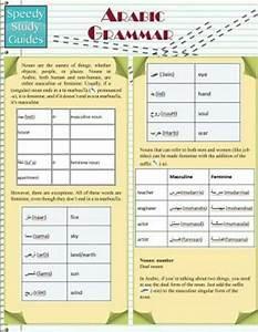 Arabic Grammar  Speedy Study Guides  Academic   Brand New