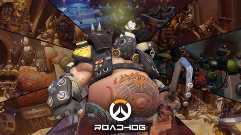 overwatch roadhog wallpaper background gamers wallpaper