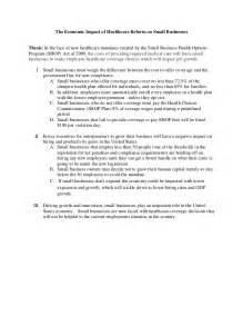 Economics Research Paper Outline