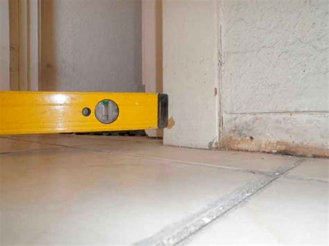 level floor most common causes of sloping floors los angeles foundation repair company