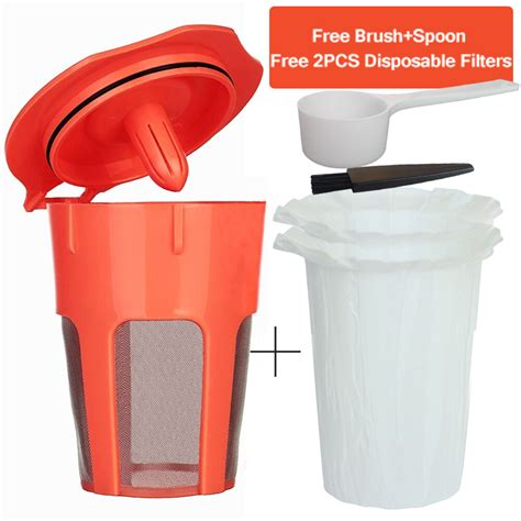 There are 199 reusable keurig pod for sale on etsy, and they cost $24.36 on average. BRBHOM for Keurig 2.0 K-Carafe Reusable Coffee Filter ...
