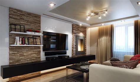 wohnzimmer modern einrichten kalte oder warme toene