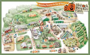 Directions To Bishops Pumpkin Patch by Attractions Map For Bishop S Pumpkin Farm In Wheatland