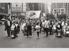 Pioneers in the fight for disability rights