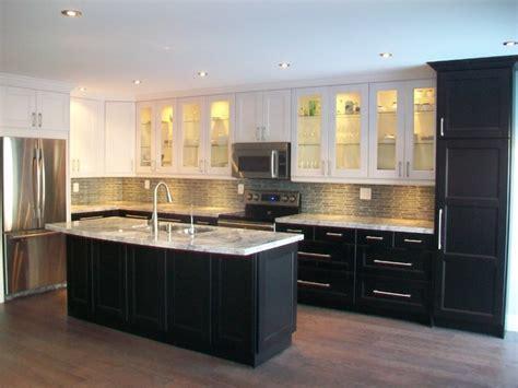 ikea kitchen idea ikea kitchens ramsjo white and ramsjo black brown