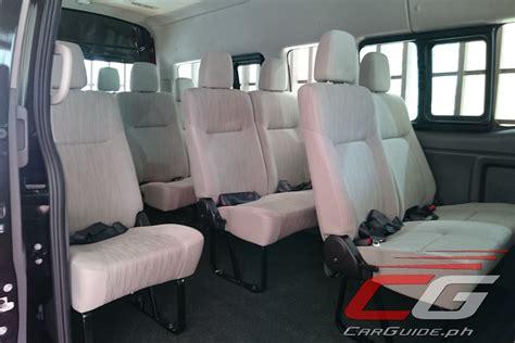 nissan urvan 2013 interior nissan philippines launches super sized urvan premium w
