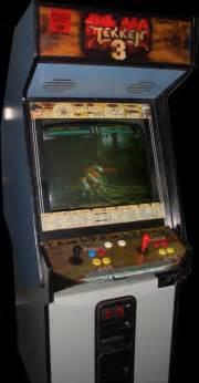 tekken 3 arcade cabinet tekken 3 tet1 ver e1 rom