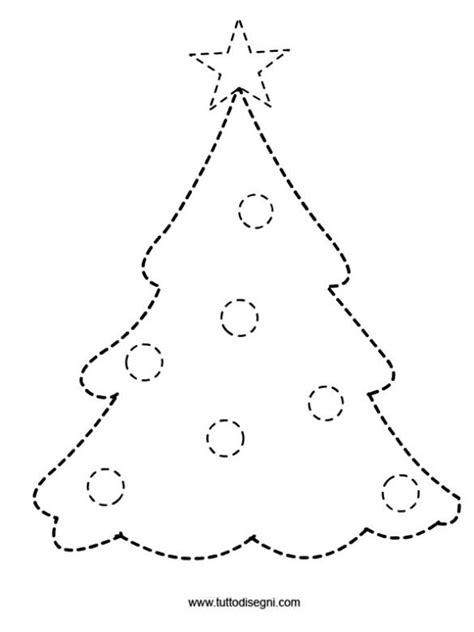 traceable christmas tree albero pregrafismo tutto disegni natale trees and the tree