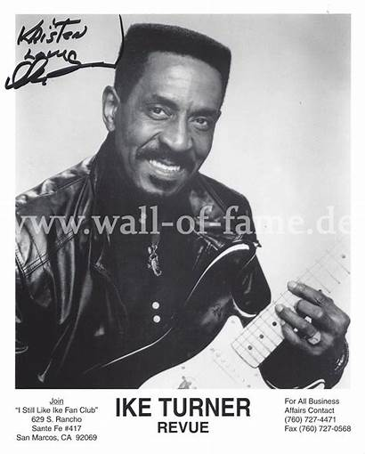 Ike Turner Fame Autograph Autogramm