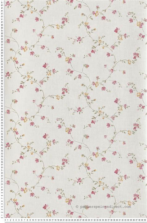 Tapisserie à Fleurs by Papier Peint Fleurette Et Orange Butterfl Cas 233 Lio