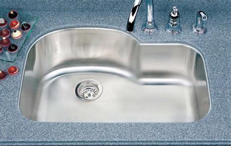 single bowl kitchen sink with offset drain houzer medallion designer series offset single bowl sink 9765