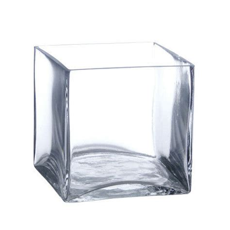 Square Vases by 12 Pack 4 Inch Square Glass Vases Cube Vase 4 Quot 4x4x4