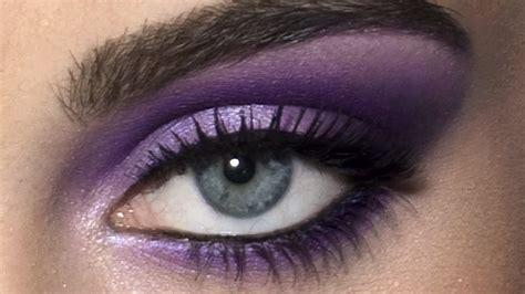 ultraviolet eyes hd makeup tutorial youtube