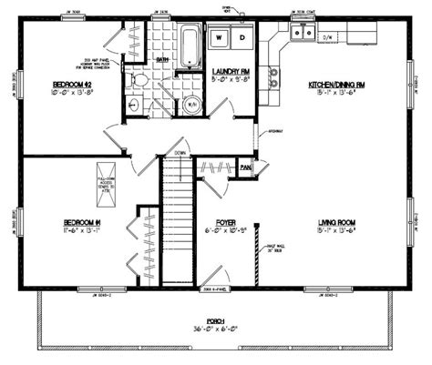 floor plans 20 x 40 plans besides 20 x 40 mobile home floor plan further pole barn home 2 brm floor plans