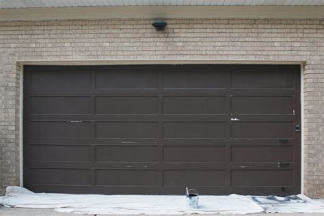 How To Paint A Metal Garage Door by Step By Step Tutorial How To Paint A Garage Door The